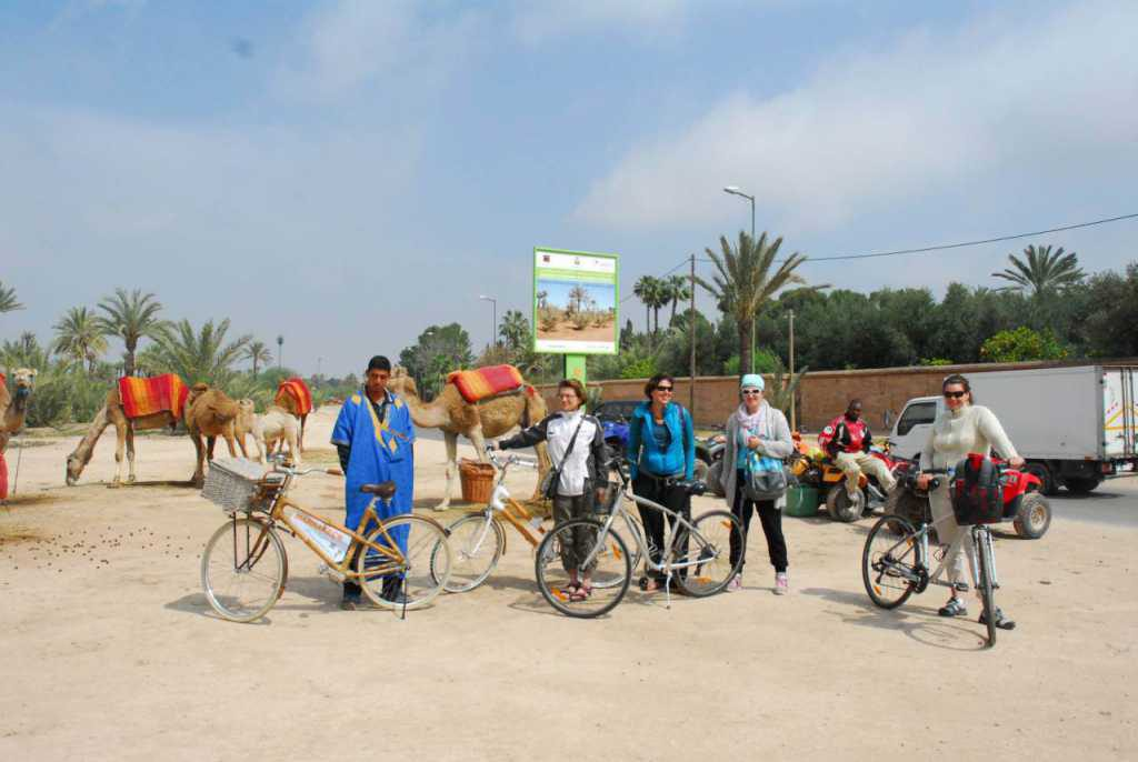 Biking Tour Marrakech Highlights & Gardens