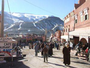 high atlas berber village