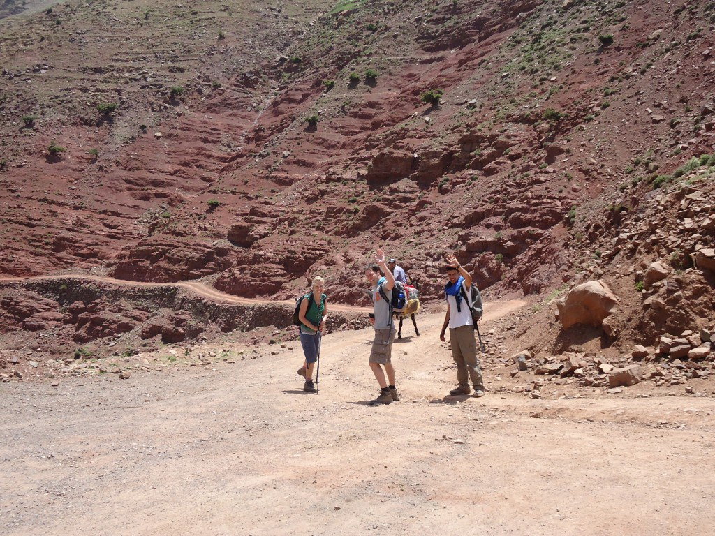 Day 1 - Jebel Toubkal for 'diehards' with bivouacs