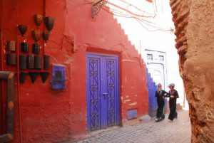 Red streets of Marrakech