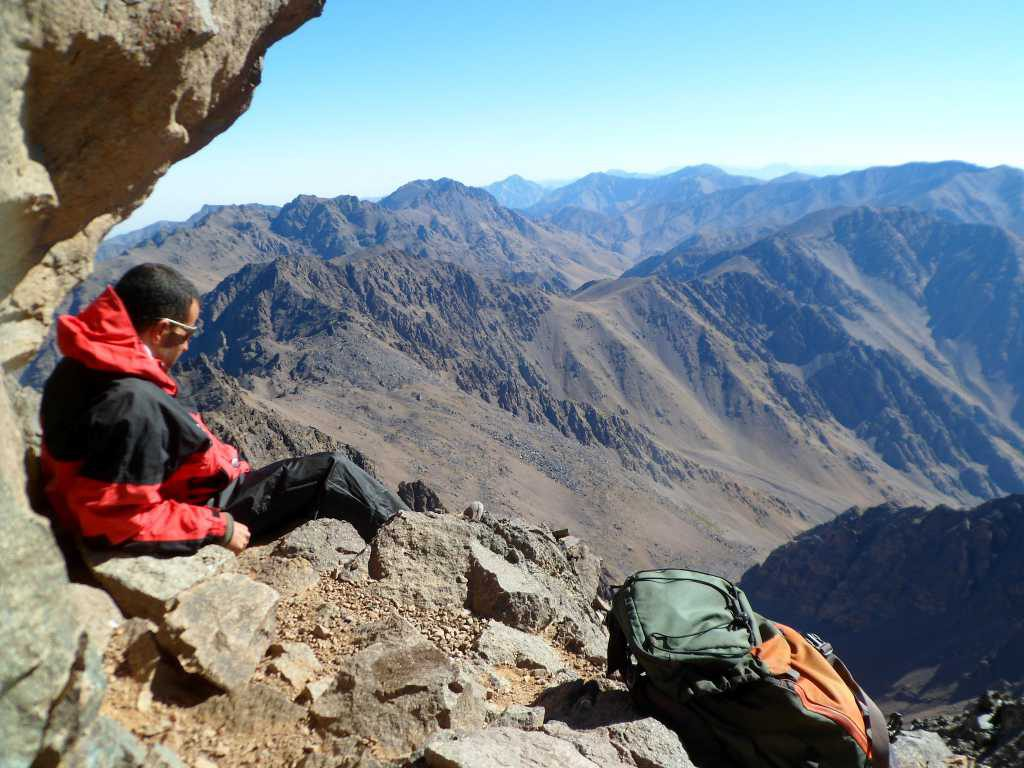Jebel Toubkal for 'diehards' with bivouacs
